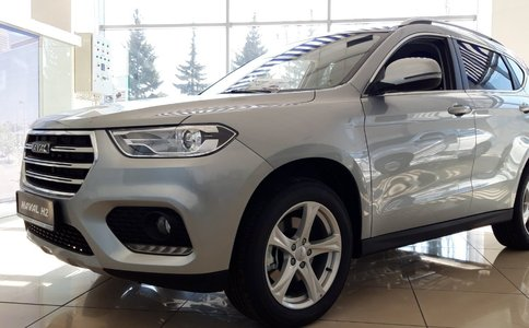 HAVAL H2 F/L - Pittsburgh Silver