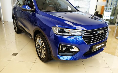 HAVAL All New H6 - Carney Blue